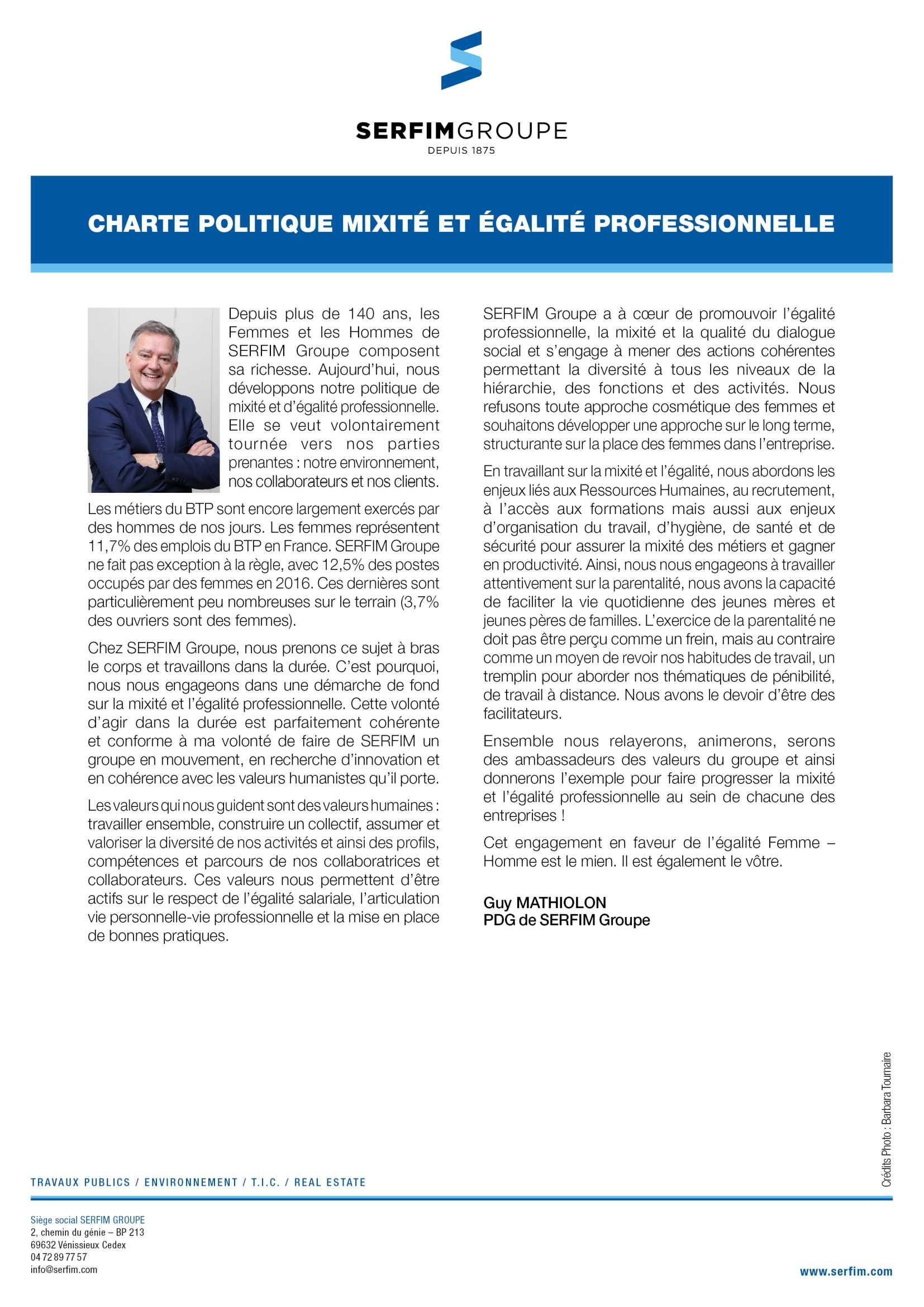 charte-mixite-egalite-professionnelle-serfim-groupe