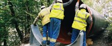 Tuyaux conduite forcée Saint Firmin