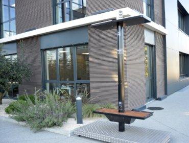 L'ECOBANC®, un mobilier urbain autonome - Photo n°1