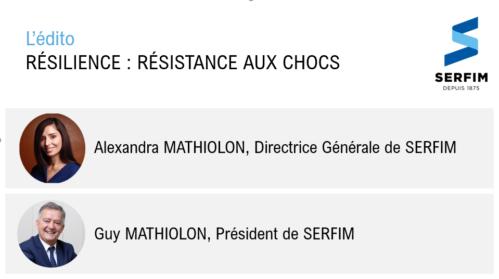 Resilience : résistance aux chocs -edito SERFIM